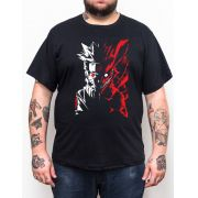Camiseta Plus Size Naruto Kyuubi