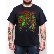 Camiseta Plus Size Predador - Preto