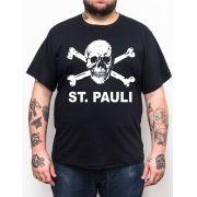 Camiseta Plus Size St Pauli - Preto