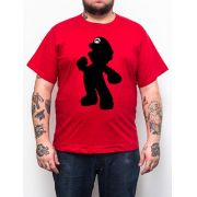 Camiseta Plus Size Super Mario - Vermelho