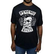 Camiseta Psychobilly Preta