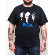 Camiseta R.E.M. - Plus Size - Tamanho Grande