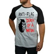 Camiseta Anti Flag - Raglan