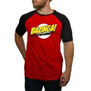 Camiseta Bazinga - Raglan