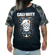 Camiseta Raglan Call of Duty - Plus Size - Tamanho XG