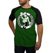 Camiseta Raglan Dropkick Murphys Boston Celtics