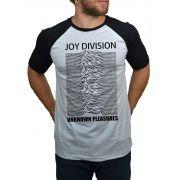Camiseta Joy Division Unknown Pleasures - Raglan