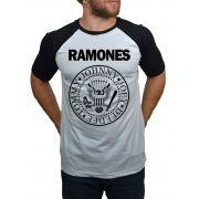 Camiseta Ramones Logo - Raglan