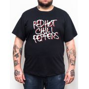 Camiseta Red Hot Chili Peppers - Plus Size - Tamanho Grande