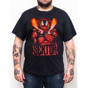 Camiseta Sektor Mortal Kombat - Plus Size - Tamanho XG