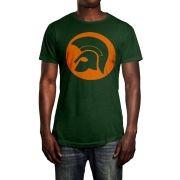 Camiseta Ska Trojan Verde Musgo
