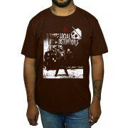 Camiseta Social Distortion - Escolha a Cor