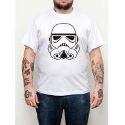 Camiseta Stormtrooper Branco Plus Size - Tamanho XG