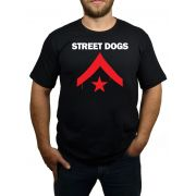 Camiseta Street Dogs - Preta