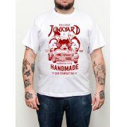Camiseta Street Fighter - Geek - Plus Size - Tamanho Grande - Branca
