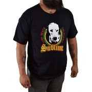 Camiseta Sublime Lou Dog Preto