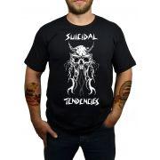 Camiseta Suicidal Tendencies - Preta