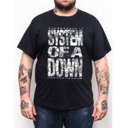 Camiseta System of a Down - Plus Size - Tamanho Grande