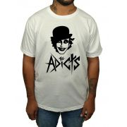 Camiseta The Adicts - Branca