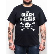 Camiseta The Clash Japan - Plus Size - Tamanho Grande Xg