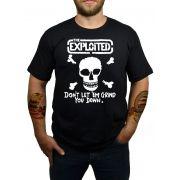 Camiseta Exploited - Preta