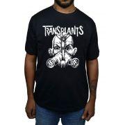 Camiseta Transplants - Preto