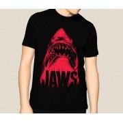 Camiseta HShop Tubarão Preto