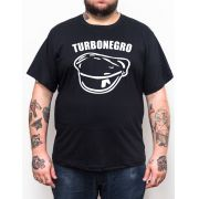 Camiseta Turbonegro - Preto - Plus Size - Tamanho Grande Xg