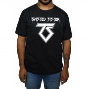 Camiseta Twisted Syster - Preta