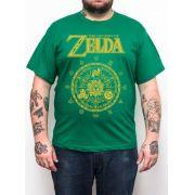 Camiseta Zelda Verde Esmeralda - Plus Size - Tamanho XG