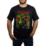 Camiseta Predador - Preto