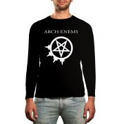 Manga Longa Arch Enemy - Preto