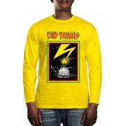 Manga Longa Bad Brains - Amarelo