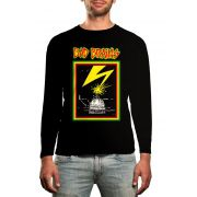 Manga Longa Bad Brains - Preto