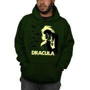 Moletom Dracula Clássico - Verde Musgo