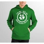 Moletom Hshop Beer Trevo - Verde Bandeira