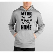 Moletom HShop Get Big Or Go Home