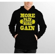 Moletom HShop More Pain More Gain