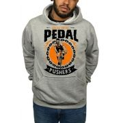 Moletom HShop Pedal Pushers Cinza Mescla