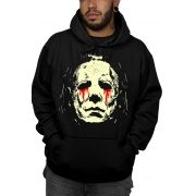Moletom Michael Myers Halloween - Preto