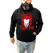 Moletom Plus Size It A Coisa - Pennywise Tamanho Grande