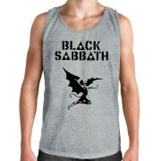Regata Black Sabbath - Demon - Cinza Mescla