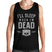 Regata HShop Sleep When Dead Preto