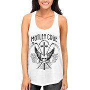 Regata Motley Crue - Branca