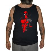 Regata Plus Size Deadpool Chest - Tamanho XG