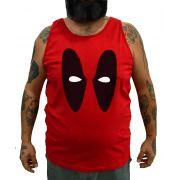 Regata Plus Size Deadpool - Tamanho XG