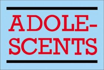 Adesivo Adolescents - 024  - HShop
