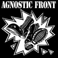 Adesivo Agnostic Front - 002  - HShop