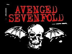 Adesivo Avenged Sevenfold - 010  - HShop