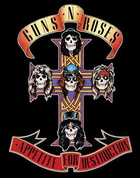 Adesivo Guns N Roses - 028  - HShop